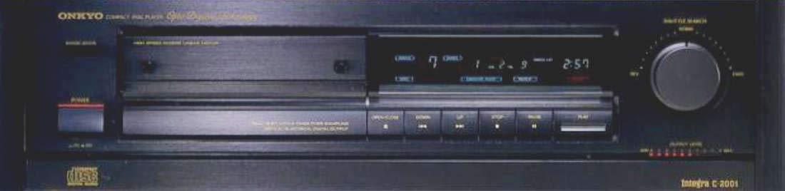 onkyo サーチスピードをノブの角度で自由自在にコントロール cdプレーヤー C-2001 オリジナル布ダストカバー[プレゼント セット] B07QD13Y14