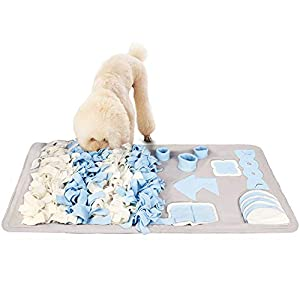 Snuffle Mat for Small Large Dogs Nosework Feeding Mat Easy to Fill and Machine Washable Training Mats Pet Activity/Toy/Play Mat, Great for Stress Release 31
