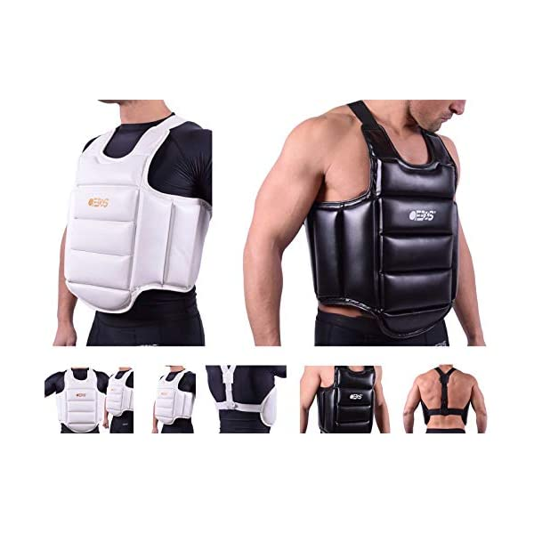 Ofbos-Catcher-Chest-Protector-MMA-Chest-Protection-MMA-Muay-Thai-Karate-Gym-Fitness-Workout-Body-Shield-Protector-Synthetic-Leather