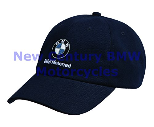 Bmw Motorcycles Gear (BMW Genuine Motorcycle Motorrad Unisex Classic Hat Cap Navy One)