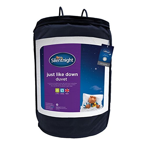 -[ Silentnight Just Like Down 10.5 Tog Duvet - Double  ]-