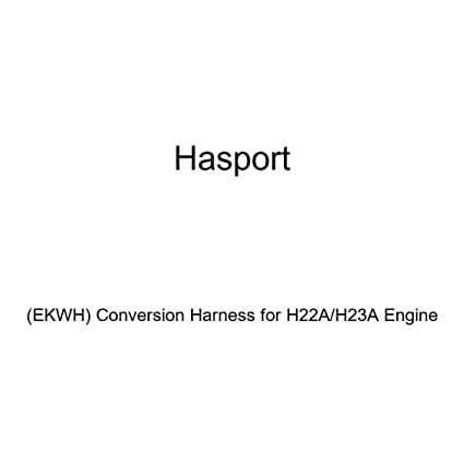 amazon com: hasport (ekwh) conversion harness for h22a/h23a engine:  automotive