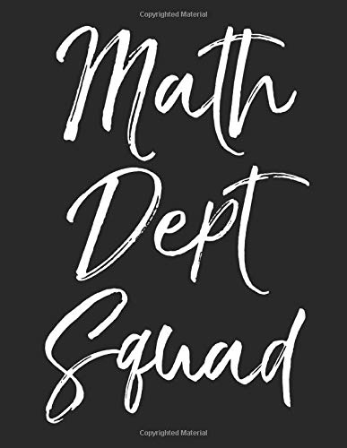 Math Dept Squad: Graph Paper Composition Notebook 8.5 x 11 for ...