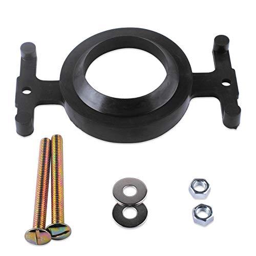Poweka 04-3817 Toilet Tank to Bowl Gasket Kit for Eljer,Solid Brass Tank to Bowl Bolt Set ()
