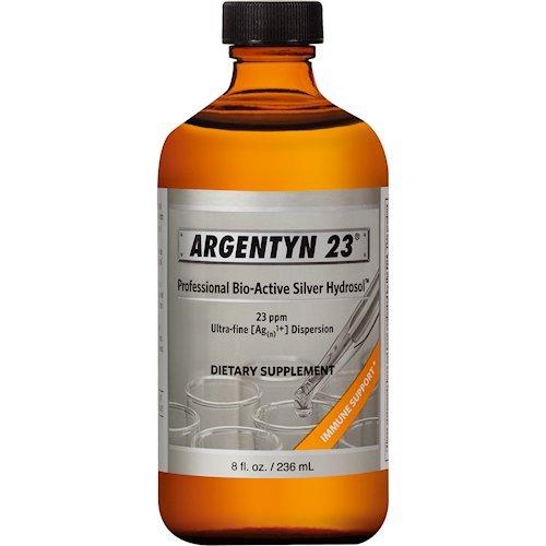 Silver Dropper Top (Argentyn 23, Argentyn 23 8 oz)