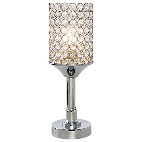 Glanzhaus elegant style decorative nightstand clear - Elegant table lamps for living room ...