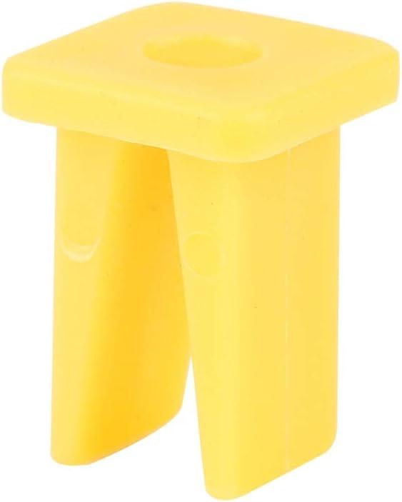 500 piezas surtidas de pl/ástico para puerta de coche Clip de ajuste de sujetador Kit de pasador de remache con destornillador multicolor