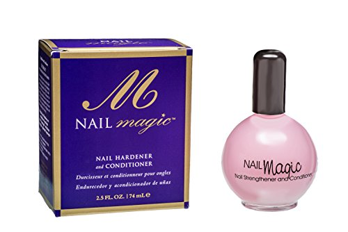 Nail Magic Nail Hardener & Conditioner, Prevents & Treats Chipping, Peeling, Brittle Fingernails, Strengthens & Hardens Nails, 2.3 fluid oz