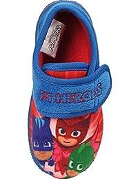 PJ Masks Boys Pierce Low Top Slippers UK Sizes Child 6-12