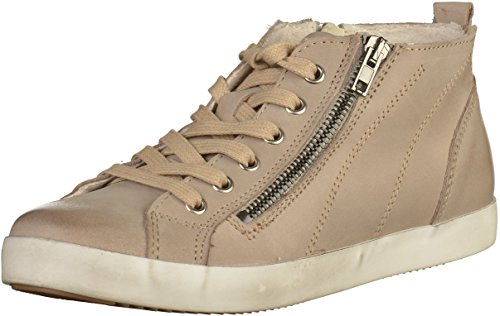 Tamaris Dames High-top Sneaker Blauw Grijs (peper)