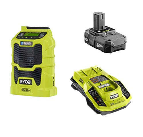 Why Should You Buy Ryobi 18 Volt Portable Jobsite Radio Kit with USB Port and Bluetooth - P742 + Bat...
