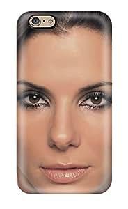 Defender Case For Iphone 6, 0242 Celebrity Sandra Bullock Pattern