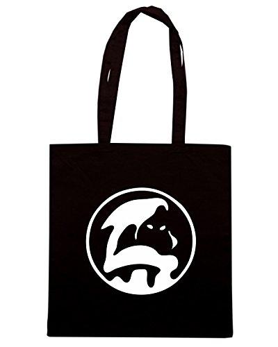 T-Shirtshock - Bolsa para la compra TUM0226 ultras hooligans Negro