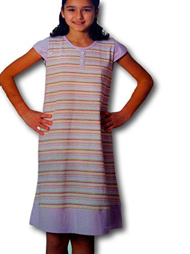 Yildiz der beste preis amazon in savemoney iki yildiz girls supersoft cotton nightgown nightdress pajamas 8 lilac striped cap fandeluxe Images