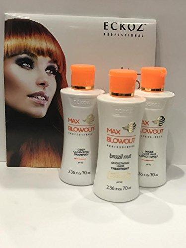 Eckoz MAX BLOWOUT Smoothing Hair Treatment Kit