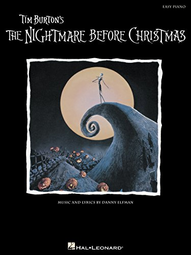 Hal Leonard Nightmare Before Christmas For Easy Piano (Christmas Piano Music Before Nightmare)