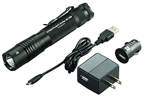 Streamlight 88054 ProTac HL USB 850 Lumen Professional Tactical Flashlight with High/Low/Strobe with USB Charger - 850 -