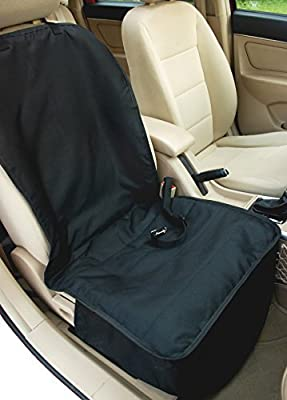 NAC&ZAC Deluxe Waterproof Bucket Dog Seat Cover, Non-slip, Quilted, Machine Washable Barrier Pet Car Seat Cover