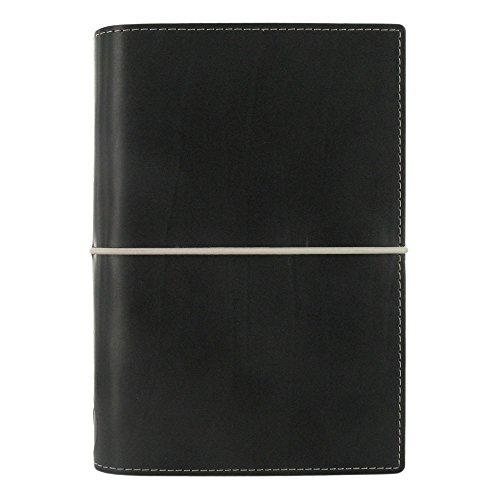 Filofax 2019 Personal Domino Organizer, Black, Paper Size 6.75 x 3.75 inches ()