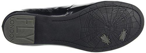 Fly London Fa, Women's Ballet Flats Black (Black)