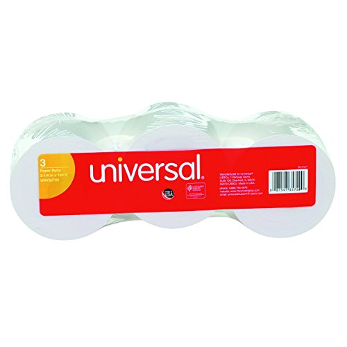 (Universal 35720 Adding Machine/Calculator Roll, 16 lb, 1/2