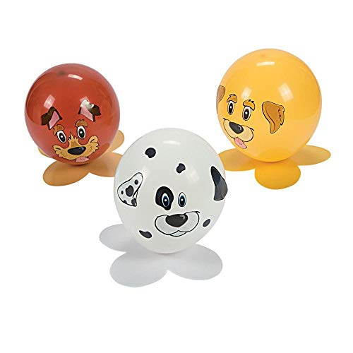Fun Express Puppy Dog Balloon Craft Kit Party Activity - Makes 12 -