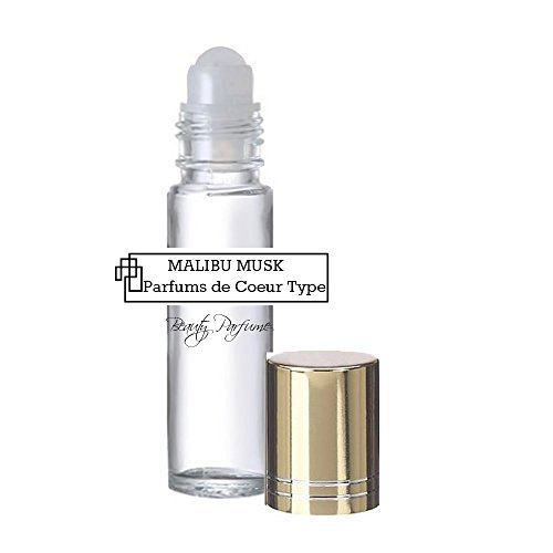 Musk Type - Malibu Musk *Type (W) Concentrated Version PREMIUM PERFUME BODY OIL Roll on : UNCUT PARFUM OIL