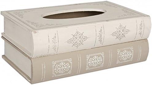 Caja para pañuelos con forma de libros, libros madera, diseño de ...