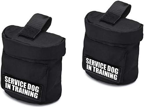 Service Dog Vest Harness Saddle Bag BackPack PouchPatches - Service Dog Emotional Support Service Dog In Training Do Not Pet In Training Back Pack - Quality Saddlebag for Service Dogs Vests / Service Dog Vest Harness Saddle Bag Bac...
