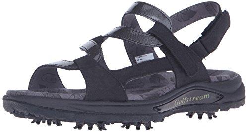 Golfstream Women's Spike Sandal Golf Shoe - Glitter Black...