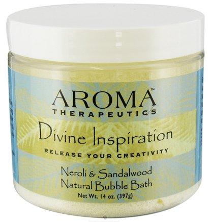 Inspiration Aromatherapy Mineral Bath (Divine Inspiration Aroma Therapeutic Bubble Bath Abra Therapeutics 10 oz Jar)