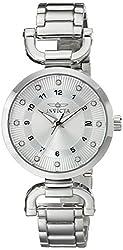 Invicta Women's 16223 Angel Analog Display Japanese Quartz Silver Watch