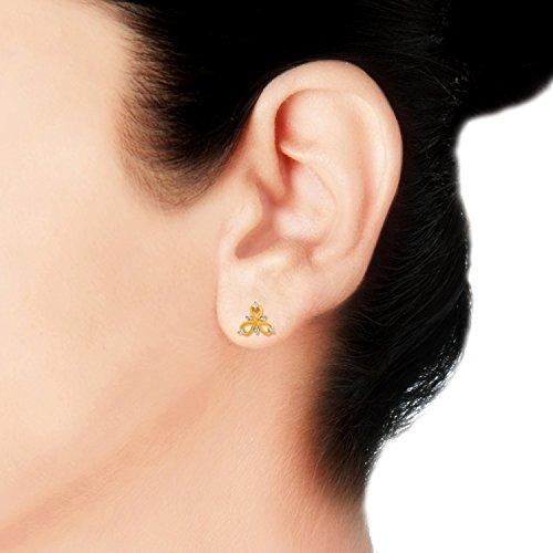 Giantti 14carats Diamant pour femme Boucles d'oreille à tige (0.084CT, VS/Si-clarity, Gh-colour)