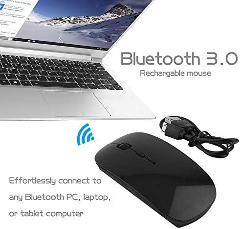Souris sans fil 3.0 rechargeable portable pour tablettes PC portable