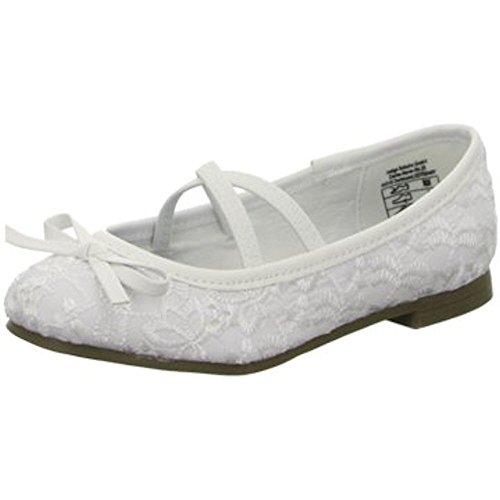 Indigo Schuhe 422063000/109 - Bailarinas Para Niña Blanco Weiß 31 EU