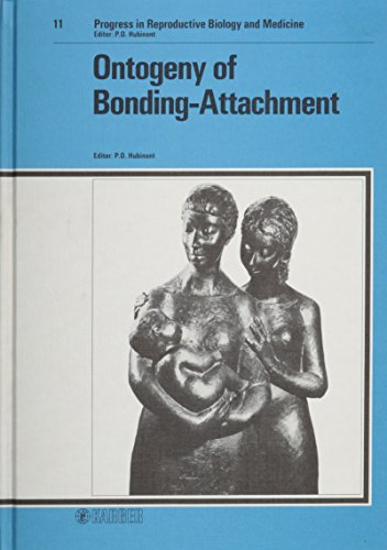 Ontogeny of Bonding Attachment: 8th Seminar of Reproductive Biology, Brussels, January 1984 (International Seminar on Re