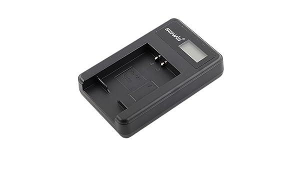 Amazon.com : eDealMax Cargador de baterías de cámaras ...
