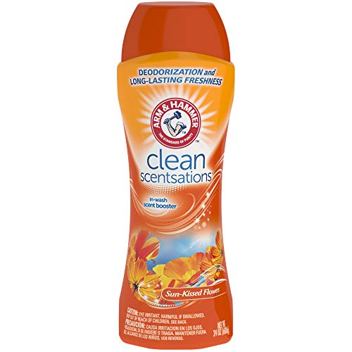 Arm & Hammer Clean Scentsations In-Wash Scent Booster - Sun-Kissed Flowers, 24 oz, Pack of 6 ()