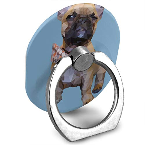 French Bulldog Cell Phone Finger 360 Degree Rotation Ring Stand Phone Ring Bracket Holder Smartphone Ring Stent Tablet for $<!--$5.66-->