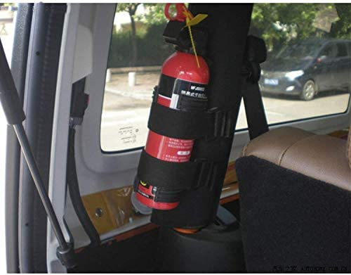 L/&U Einstellbare Roll Bar Feuerl/öscher Halterung f/ür Jeep Wrangler Unlimited CJ YJ LJ TJ JK JKU JL JLU