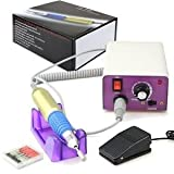 New PROFESSIONAL ELECTRIC NAIL FILE DRILL Tools Pedicure Machine kit Set USA (ND003)30000RPM Nail Machine S...