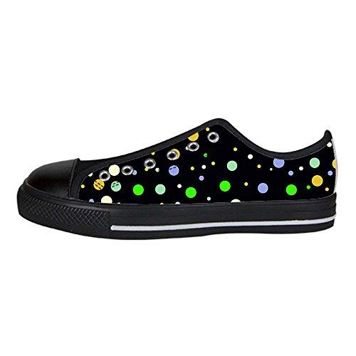 Dalliy polka dots Mens Canvas shoes Schuhe Lace-up High-top Sneakers Segeltuchschuhe Leinwand-Schuh-Turnschuhe A