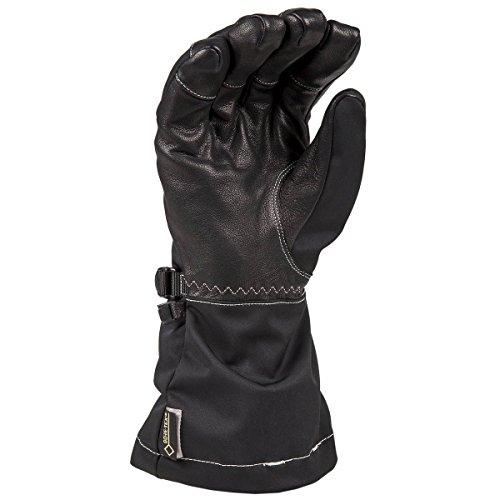 Klim Allure Women's Ski Snowmobile Gloves - Matte Black / Large by Klim (Image #1)