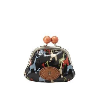 style de mode valeur formidable meilleures baskets Porte-monnaie Fossil KEY PER Girafes: Amazon.fr: Bagages