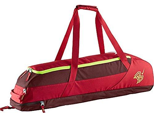 Nike MVP Edge Bat Bag Red/Burgundy/Volt - Bat Bag Nike