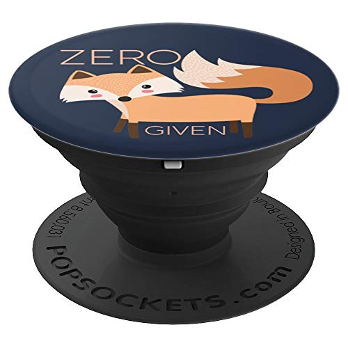 Sassy Southern Charm & Grace Cute Funny & Unique Zero Fox Given PopSockets Stand for Smartphones an - PopSockets Grip and Stand for Phones and Tablets (Charm Phone Zelda)