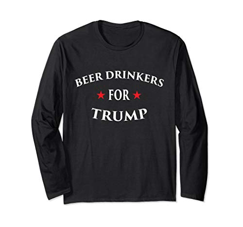 Beer Drinkers For Trump 2020 Pro Rally Vote Election T-Shirt