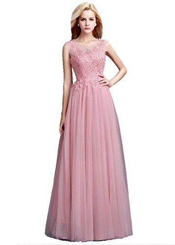 See Royal Lace maniche lungo senza Beauty abito Through da up Emily sera Perla Blue EZwxUHq07