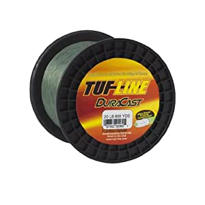 Western Filament's 2500 Yard TUF-Line Dura Cast, 10-Pound, Green