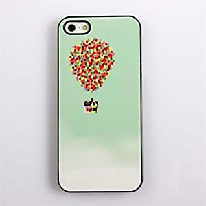 TOPAA Colorful Balloon Design Aluminum Hard Case for iPhone 5/5S